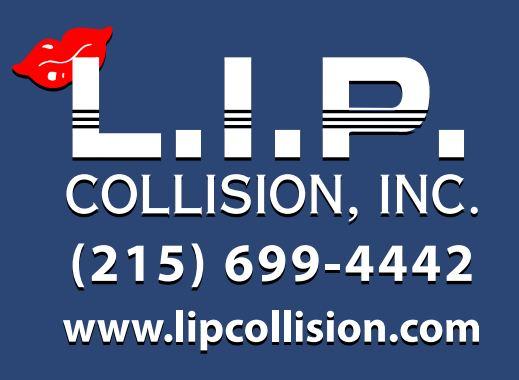L.I.P. Collision Inc Logo